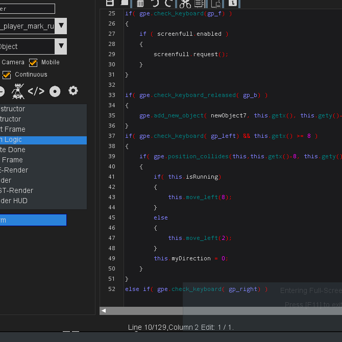 Evolving Codebase
